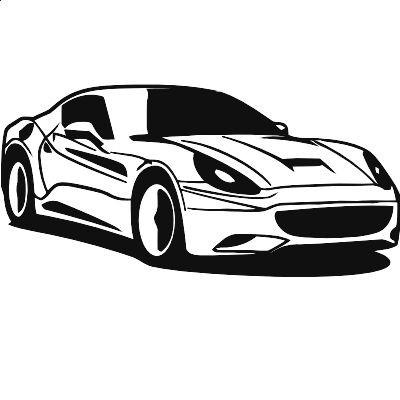Wandtattoo Ferrari