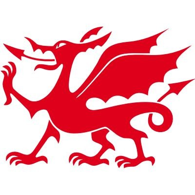 Wandtattoo Welsh Dragon