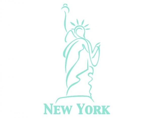 Wandtattoo Freiheitsstatue New York