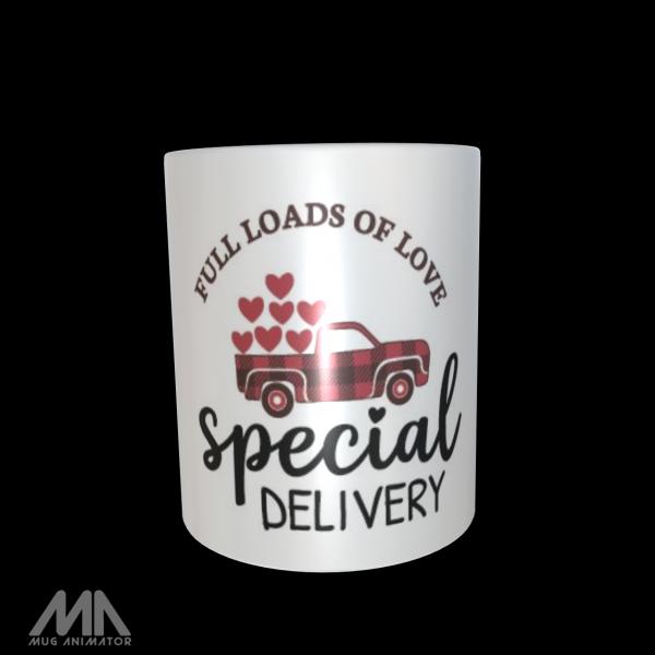 """Tasse bedruckt """"Special Delivery"""""""