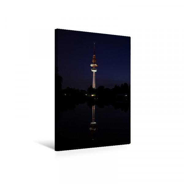 "Leinwandbild ""Fernsehturm Hochformat"""