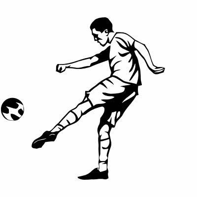 Wandtattoo Fußballer 2