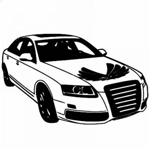 Wandtattoo Audi A6
