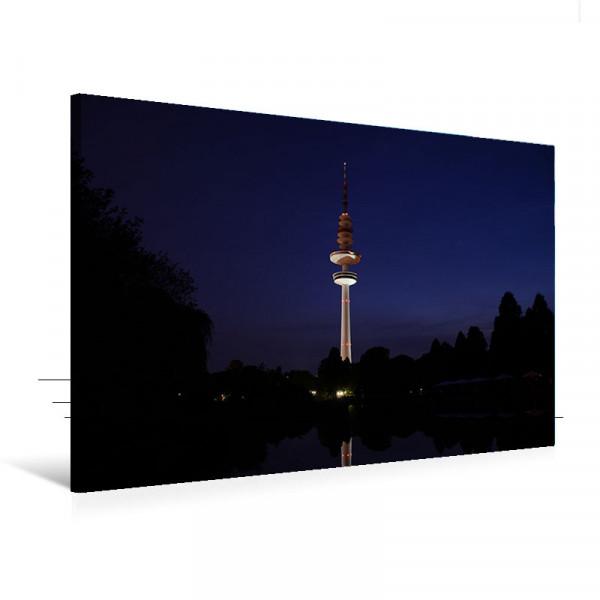 """Leinwandbild """"Fernsehturm Querformat"""""""