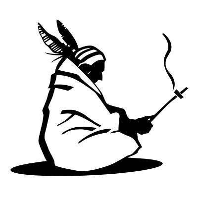 Wandtattoo Indianer