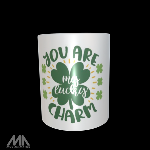 """Tasse bedruckt """"You are my lucky charm"""""""