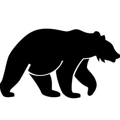 Wandtattoo Bär