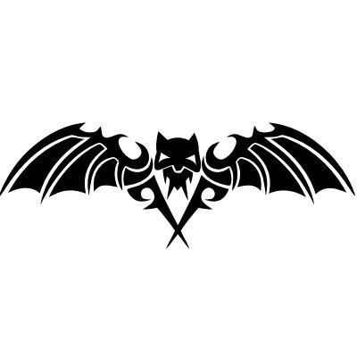 Wandtattoo Fledermaus (Hell-Bat)