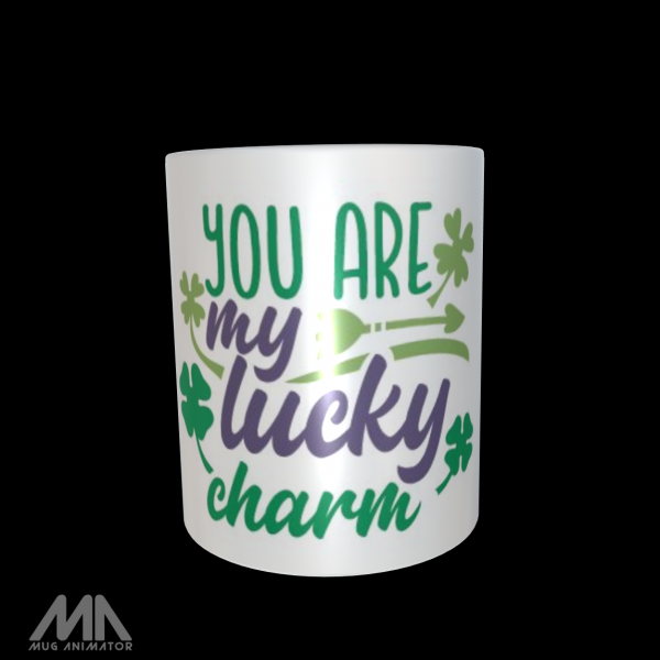 """Tasse bedruckt """"You are my lucky charm 2"""""""