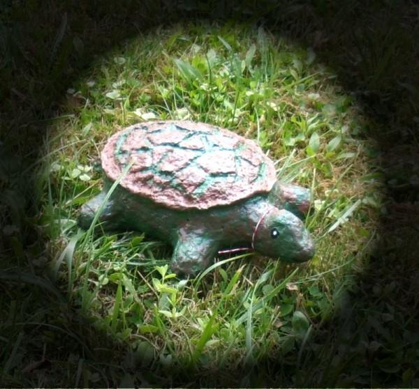 Dekofigur Schildkröte Modell Tobi