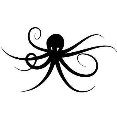 Wandtattoo Octopus