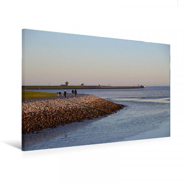 "Leinwandbild ""Sommertag an der Nordsee"""