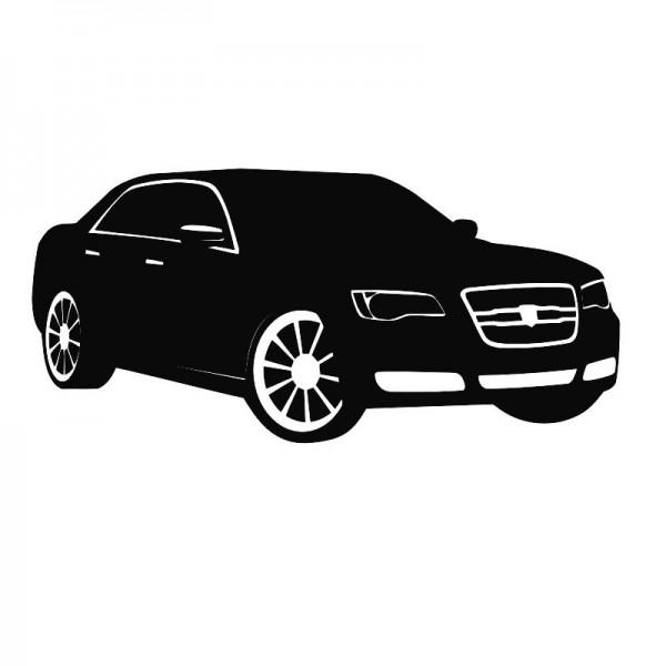 Wandtattoo Chrysler 300