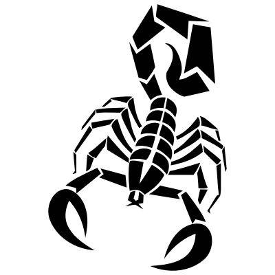 Wandtattoo Scorpion 2