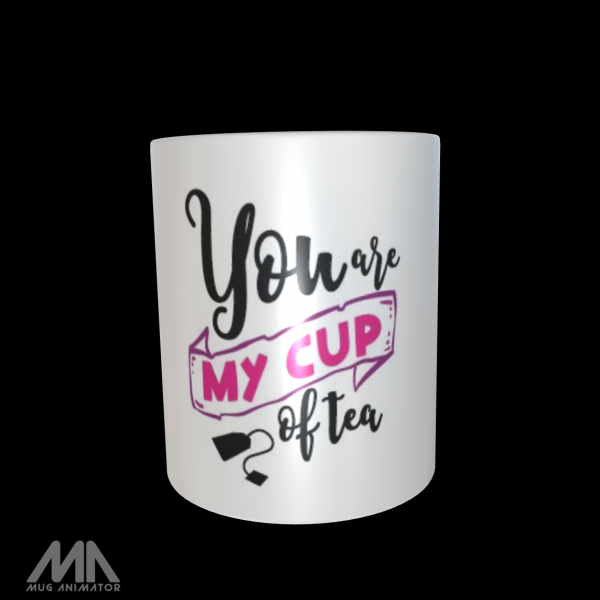 """Tasse bedruckt """"You are my Cup of Tea"""""""